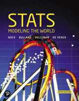 9780134685762-0134685768-Stats: Modeling the World (5th Edition)