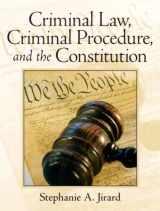 9780131756311-0131756311-Jirard: Crimi Law Crimi Proce Const