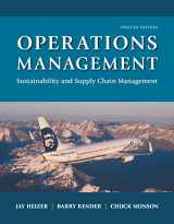9780134422404-0134422406-Operations Management: Sustainability and Supply Chain Management Plus MyLab Operations Management with Pearson eText -- Access Card Package