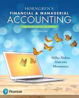 9780134486857-0134486854-Horngren's Financial & Managerial Accounting, The Managerial Chapters (6th Edition)