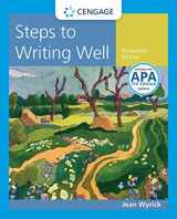 9781337280945-1337280941-Steps to Writing Well with Additional Readings, 2016 MLA Update and 2019 APA Updates