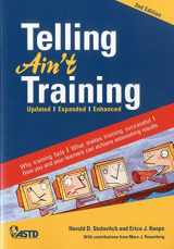 9781562867010-1562867016-Telling Ain't Training: Updated, Expanded, Enhanced