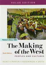 9781319105020-1319105025-The Making of the West, Value Edition, Volume 2: Peoples and Cultures