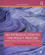 9781138495616-1138495611-An Introduction to the Policy Process: Theories, Concepts, and Models of Public Policy Making