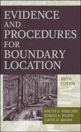 9780470404782-0470404787-Evidence and Procedures for Boundary Location