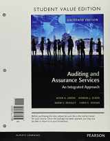 9780134417301-0134417305-Auditing and Assurance Services, Student Value Edition Plus MyLab Accounting with Pearson eText -- Access Card Package (16th Edition)