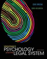 9781133956563-1133956564-Wrightsman's Psychology and the Legal System