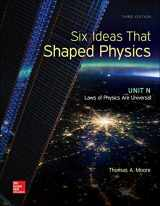 9780077600938-0077600932-Six Ideas that Shaped Physics: Unit N - Laws of Physics are Universal (WCB Physics)