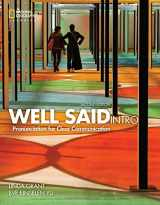 9781305641426-1305641426-Well Said Intro (Well Said, New Edition) - Standalone book