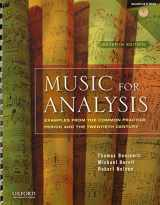 9780195379839-0195379837-Music for Analysis: Examples from the Common Practice Period and the Twentieth Century