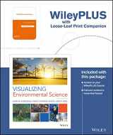 9781119338857-1119338859-Visualizing Environmental Science, 5e WileyPLUS Learning Space Registration Card + Loose-leaf Print Companion