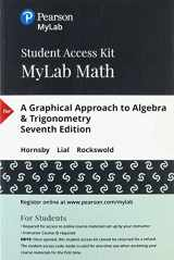 9780134859118-0134859111-MyLab Math with Pearson eText -- 24-Month Standalone Access Card -- for A Graphical Approach to Algebra & Trigonometry