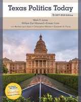 9781305952188-1305952189-Texas Politics Today 2017-2018 Edition