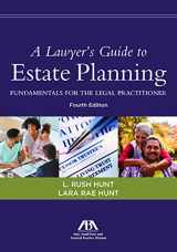 9781641050289-1641050284-A Lawyer's Guide to Estate Planning, Fundamentals for the Legal Practitioner