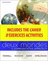9780077412708-0077412702-Cahier d'exercices to accompany Deux Mondes: Communicative Approach