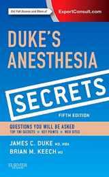 9780323249775-0323249779-Duke's Anesthesia Secrets