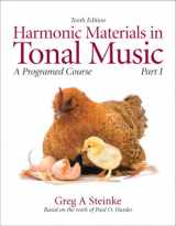 9780205629718-0205629717-Harmonic Materials in Tonal Music: A Programmed Course, Part 1 (10th Edition) (Pt. 1)