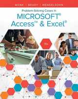9781337101332-1337101338-Problem Solving Cases In Microsoft Access & Excel