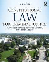 9781138601819-1138601810-Constitutional Law for Criminal Justice