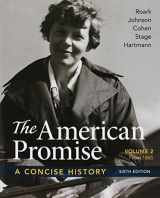 9781319112134-1319112137-American Promise: A Concise History, Volume 2 6e & Reading the American Past: Volume 2, 5e