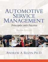 9780132725408-0132725401-Automotive Service Management (2nd Edition) (Automotive Comprehensive Books)