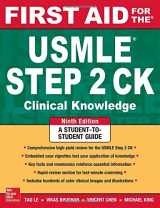 9780071844574-0071844570-First Aid for the USMLE Step 2 CK, Ninth Edition (First Aid USMLE)