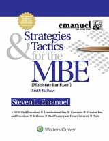 9781454873129-1454873124-Strategies & Tactics for the MBE (Emanuel Bar Review)