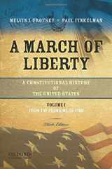 9780195382730-0195382730-A March of Liberty: A Constitutional History of the United States, Volume 1: From the Founding to 1900
