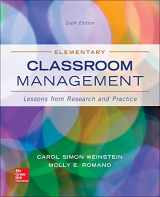 9780078024542-0078024544-Elementary Classroom Management: Lessons from Research and Practice