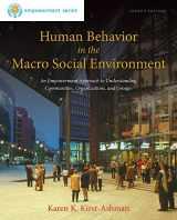 9781285075495-1285075498-Human Behavior in the Macro Social Environment, 4th Edition