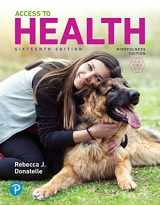 9780135204511-0135204518-Access to Health Plus Mastering Health with Pearson eText -- Access Card Package (16th Edition)
