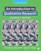 9781506307930-1506307930-An Introduction to Qualitative Research: Learning in the Field