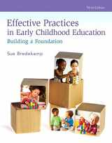 9780134401096-0134401093-Revel for Effective Practices in Early Childhood Education: Building a Foundation with Loose-Leaf Version (3rd Edition)