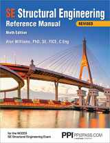 9781591265337-1591265339-PPI SE Structural Engineering Reference Manual, 9th Edition (Paperback) – A Comprehensive Reference Guide for the NCEES SE Structural Engineering Exam