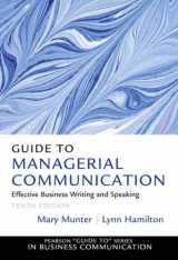 9780132971331-013297133X-Guide to Managerial Communication (Guide to Series in Business Communication)