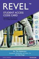 9780134319926-0134319923-Revel for The Adolescent: Development, Relationships, and Culture -- Access Card