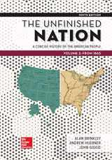 9781260164862-1260164861-Looseleaf for The Unfinished Nation: A Concise History of the American People Volume 2