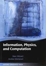 9780198570837-019857083X-Information, Physics, and Computation (Oxford Graduate Texts)
