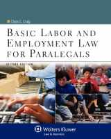 9780735507777-0735507775-Basic Labor & Employment Law for Paralegals, Second Edition (Aspen College)