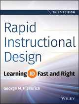 9781118973974-1118973976-Rapid Instructional Design: Learning ID Fast and Right