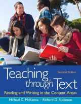 9780132685726-0132685728-Teaching through Text: Reading and Writing in the Content Areas