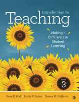 9781506393896-1506393896-Introduction to Teaching: Making a Difference in Student Learning