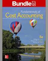 9781259911668-1259911667-Gen Combo LL Fundamentals of Cost Accounting; Connect 1s Access Card