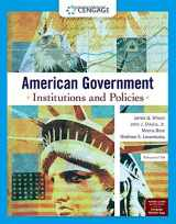 9780357136300-0357136306-American Government: Institutions and Policies, Enhanced (MindTap Course List)