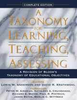 9780321084057-0321084055-Taxonomy for Learning, Teaching, and Assessing, A: A Revision of Bloom's Taxonomy of Educational Objectives, Complete Edition