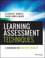 9781119050896-1119050898-Learning Assessment Techniques: A Handbook for College Faculty