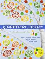9781319187484-131918748X-Loose-leaf Version for Quantitative Literacy & WebAssign Premium Homework with e-Book for Quantitative Literacy (Six-Month Access)