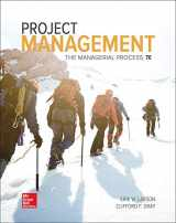 9781259666094-1259666093-Project Management: The Managerial Process (Mcgraw-hill Series Operations and Decision Sciences)
