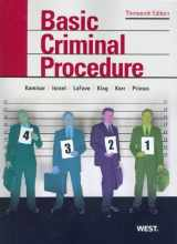 9780314911667-0314911669-Basic Criminal Procedure: Cases, Comments and Questions (American Casebook Series)