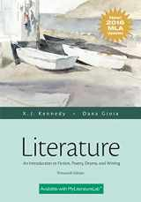 9780134586465-0134586468-Literature: An Introduction to Fiction, Poetry, Drama, and Writing, MLA Update Edition (13th Edition)